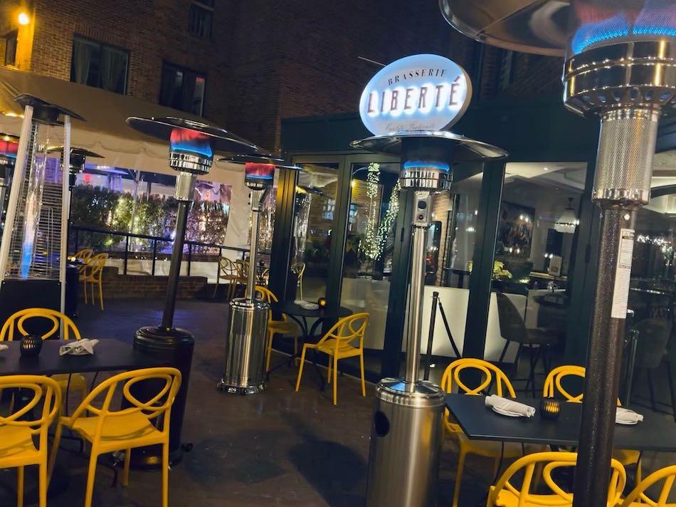 Brasserie Liberte in Georgetown