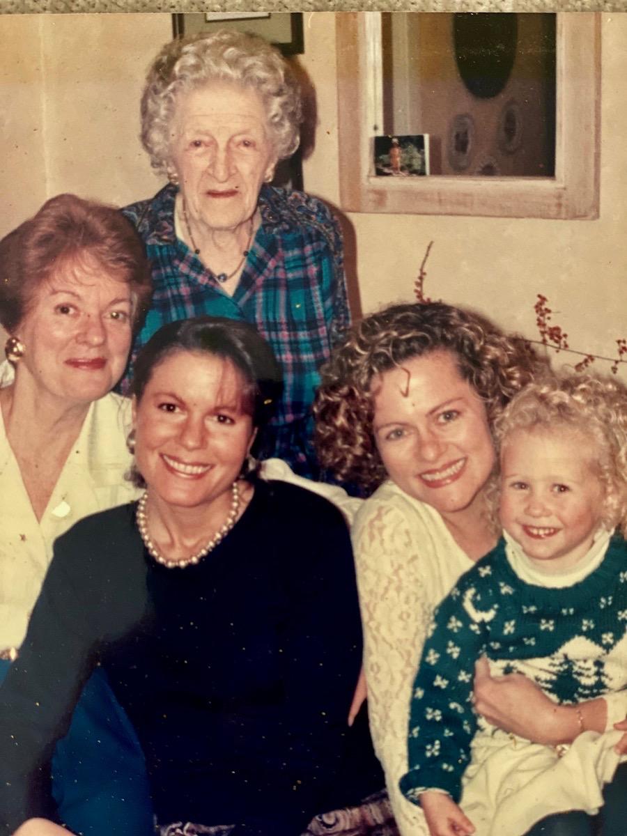 L to R: Joy Kilbourn, Jessie Joy Cousins, Heather Lee, Joy Coffield, Jessie Joy Coffield