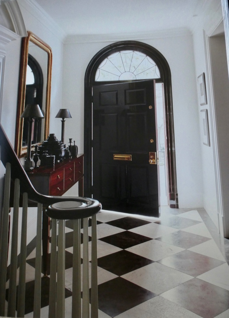 Entrance to Kevin Plank's 34th Street Georgetown Home