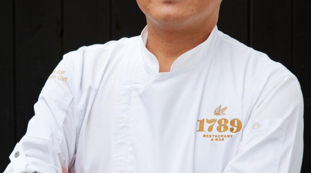 1789 Executive Chef Kyoo Eom