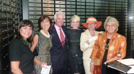 Jennifer Altemus, Lesley and Jim Lee, Elizabeth Miller, Constance Chatfield-Taylor, Betsy Cooley