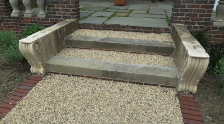 A great combination of elements makes these steps stand out.