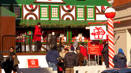 Shoppers Target holiday spirit at temporary Georgetown store