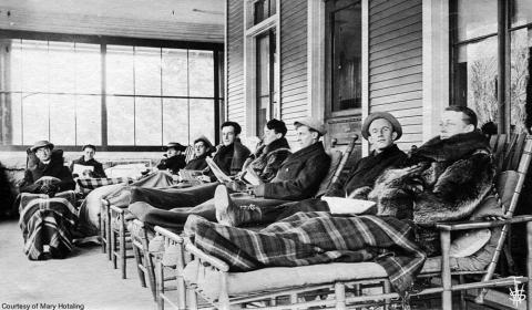 Photo Courtesy of the Historic Saranac Lake Collection